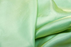 Green Satin Royalty Free Stock Photo