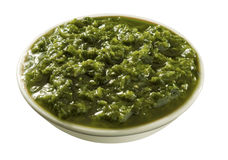 Green sauce Stock Photo