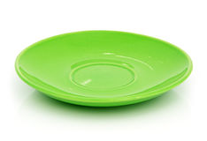Green saucer Stock Photography