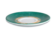Green saucer Royalty Free Stock Images