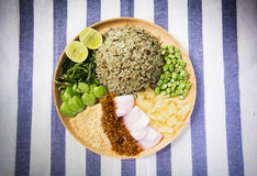 Khao yam, rice salad. Thai Cuisine Khao Yam in Southern Style Stock Images