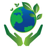 Green save earth Royalty Free Stock Photography