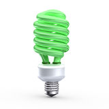 Green saving  bulb Royalty Free Stock Images