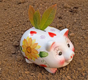 Green Savings Stock Image