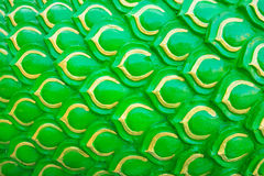 Green scale background Stock Photo