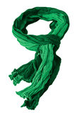 Green scarf Stock Photography