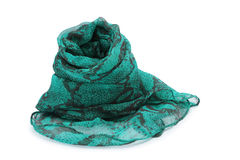 Green scarf Royalty Free Stock Photo
