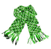 Green scarf Stock Photos