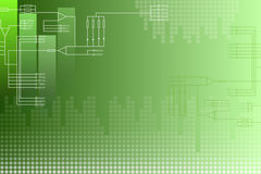 Green scheme abstract background Royalty Free Stock Images