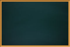 Green school blackboard Royalty Free Stock Photography