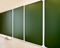 Green school board Royalty Free Stock Photography