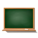 Green school board Royalty Free Stock Photo