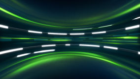 Green sci-fi background Royalty Free Stock Image