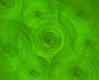 Green science fiction art abstract background Stock Images