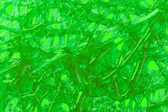 Green science fiction art abstract background Royalty Free Stock Photos