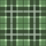 Green scottish pattern Stock Photos