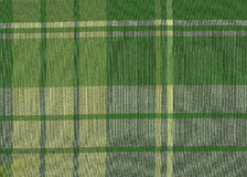 Green Scottish tartan Stock Images