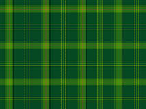 Green Scottish tartan Royalty Free Stock Photography