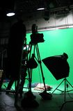 Green Screen Setup royalty free stock images