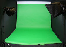Green Screen studio backdrop Stock Image