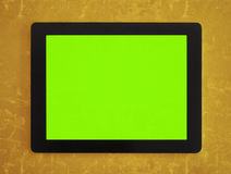 Green screen tablet Stock Photography