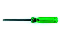A green screw driver Stock Photography