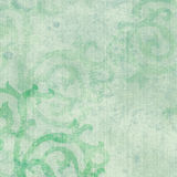 Green Scrolls Stock Images