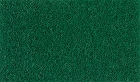 Closeup green scrubber textured fiber wire . royalty free stock photos