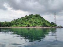Green on Sea. Klara beach Lampung Indonesia Stock Photography