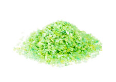 Green sea salt Stock Photo
