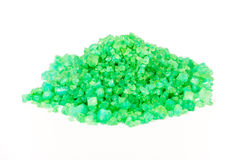 Green sea salt Royalty Free Stock Photography
