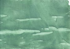 Green sea water wash drawing picture Stock Photo