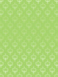 Green seamless abstract floral pattern Stock Images
