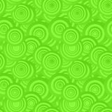 Green seamless background. Green seamless concentric circle pattern background Royalty Free Stock Photography