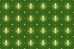 Green seamless background Stock Photography
