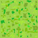 Green seamless checkered pattern Stock Photo
