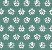 Green Seamless color pattern. Royalty Free Stock Image