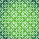 Green seamless damask background Stock Photos