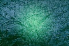 Green seamless fabric as backdrop. Stock Photo