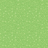 Green seamless floral pattern. Vector illustration. Royalty Free Stock Image