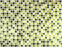 Green seamless mosaic tiles. Background Royalty Free Stock Photography