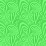 Green seamless oval pattern. Green seamless concentric oval pattern background Royalty Free Stock Images