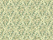 Green seamless pattern Royalty Free Stock Photos