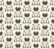 Green seamless pattern Stock Photos
