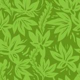 Green seamless pattern Royalty Free Stock Photo