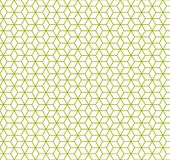 Seamless Pattern Background - Colored Vector Cubes On White Background. Green Seamless Pattern Background - Colored Vector Cubes On White Royalty Free Stock Photos