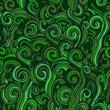 Green seamless pattern. Background with grass. Royalty Free Stock Photos