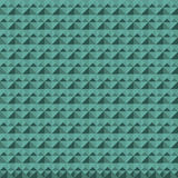 Green seamless pattern from different shapes. Royalty Free Stock Photography