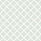 Green seamless pattern with a geometric shapes royalty free stock photos