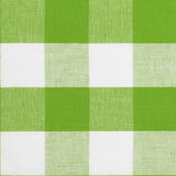 Green seamless pattern of gingham tablecloth. Real green seamless pattern of gingham traditional tablecloth suitable for 3d modeling Royalty Free Stock Photo
